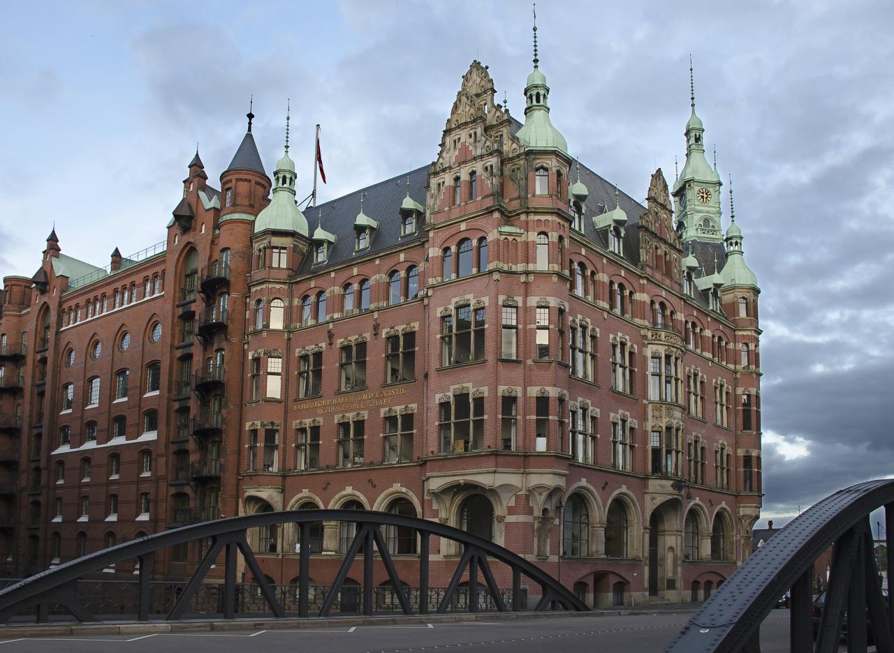 UNESCO-Welterbe Speicherstadt Und Kontorhausviertel Mit