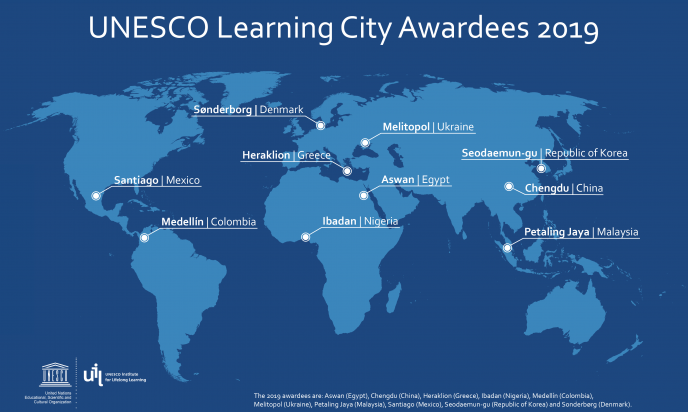 UNESCO Learning City Awardees 2019