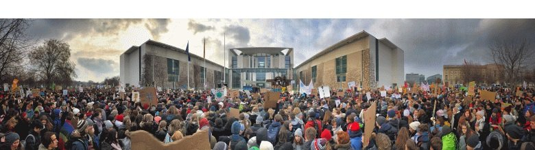 Fridays For Future Kanzleramt