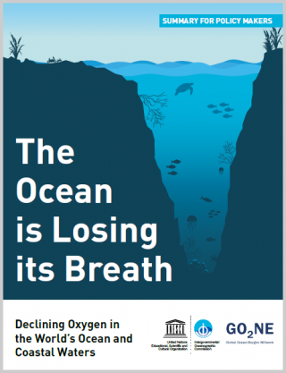 "Cover ""The Ocean is Losing its Breath"""