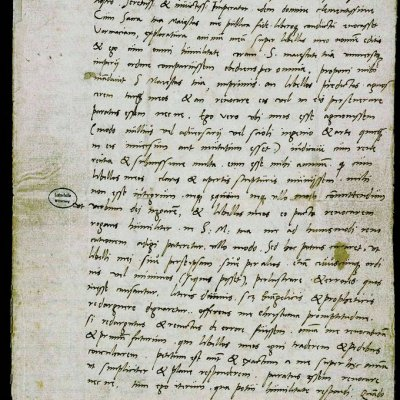 Brief Luthers an Karl V. vom 28.4.1521