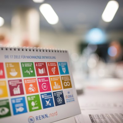 "Aufsteller ""Sustainable Development Goals"""