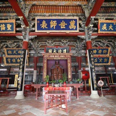 Dacheng Palasthalle von Innen